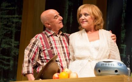 Roberto Della Casa con Viviana Toniolo in scena