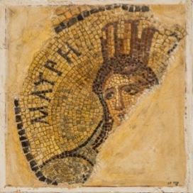 Lacerto con personificazione della Mauretania Seconda metà II secolo d.C. Calcare, marmo, 33 x 31 cm Terra Sancta Museum - sezione archeologica, Gerusalemme © Gianluca Baronchelli