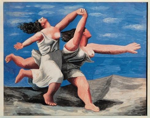 Pablo Picasso Deux femmes courant sur la plage (La course) [Due donne che corrono sulla la spiaggia (La corsa)], 1922 Gouache su tavola, 32,5 x 41,1 cm Parigi, Musée National Picasso-Paris, Dation Pablo Picasso, 1979 © Succession Picasso, by SIAE 2017