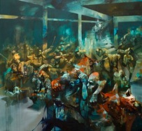 Dinner_Served_2016_Sepe_Sleeping-Through-The-War_Galleria-Varsi