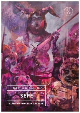 Sepe_Sleeping-Thourgh-the-War_Galleria-Varsi_Flyer