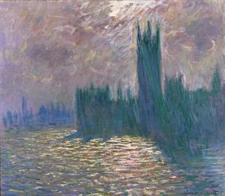 Claude Monet (1840-1926) Londra. Il Parlamento. Riflessi sul Tamigi, 1905 Olio su tela, 81,5x92 cm Parigi, Musée Marmottan Monet © Musée Marmottan Monet, paris c Bridgeman-Giraudon / presse