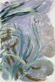 Claude Monet (1840-1926) Iris, 1924-1925 Olio su tela, 105x73 cm Parigi, Musée Marmottan Monet © Musée Marmottan Monet, paris c Bridgeman-Giraudon / presse