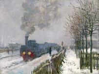 Claude Monet (1840-1926) Il treno nella neve. La locomotiva, 1875 Olio su tela, 59x78 cm Parigi, Musée Marmottan Monet © Musée Marmottan Monet, paris c Bridgeman-Giraudon / presse