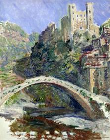 Claude Monet (1840-1926) Il castello di Dolceacqua, 1884 Olio su tela, 92x73 cm Parigi, Musée Marmottan Monet © Musée Marmottan Monet, paris c Bridgeman-Giraudon / presse