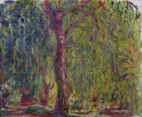 Claude Monet (1840-1926) Salice piangente, 1918-1919 Olio su tela, 100x120 cm Parigi, Musée Marmottan Monet © Musée Marmottan Monet, paris c Bridgeman-Giraudon / presse
