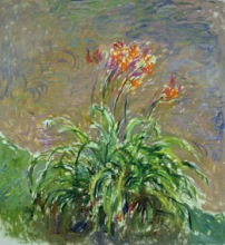 Claude Monet (1840-1926) Emerocallidi, 1914-1917 Olio su tela, 150x140,5 cm Parigi, Musée Marmottan Monet © Musée Marmottan Monet, paris c Bridgeman-Giraudon / presse