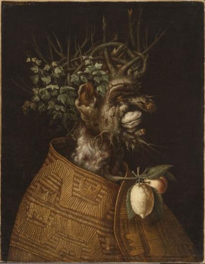 Giuseppe Arcimboldo L'Inverno, 1572 Olio su tela, 93x71,4 cm Houston, The Menil Collection