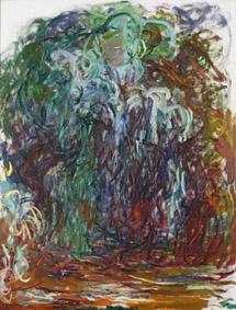 Claude Monet (1840-1926) Salice piangente, 1921-1922 Olio su tela, 116x89 cm Parigi, Musée Marmottan Monet © Musée Marmottan Monet, paris c Bridgeman-Giraudon / presse