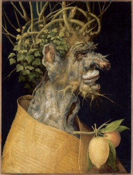 Giuseppe Arcimboldo L'Inverno, 1563 Olio su legno di tiglio, 66,6x50,5 cm Vienna, KunsthistorischesMuseum, Gemäldegalerie