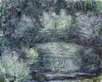 Claude Monet (1840-1926) Il ponte giapponese, 1918-1919 Olio su tela, 74x92 cm Parigi, Musée Marmottan Monet © Musée Marmottan Monet, paris c Bridgeman-Giraudon / presse