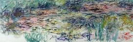 Claude Monet (1840-1926) Ninfee, 1917-1919 Olio su tela, 100x300 cm Parigi, Musée Marmottan Monet © Musée Marmottan Monet, paris c Bridgeman-Giraudon / presse