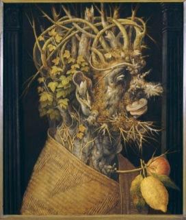 Giuseppe Arcimboldo L'Inverno, 1555-1560 circa Olio su tavola, 67,8x56,2 cm Monaco di Baviera, Bayerische Staatsgemäldesammlungen
