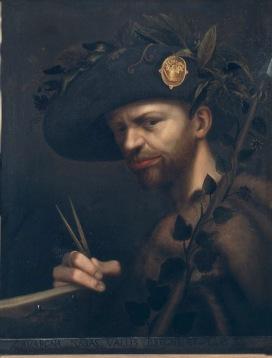 Giovanni Paolo Lomazzo Autoritratto come abate dell'Accademia della Val di Blenio, 1568 (?) Olio su tela, 56x44 cm Milano, Pinacoteca di Brera
