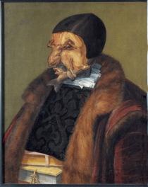 Giuseppe Arcimboldo Il Giurista, 1566 Olio su tela, 64x51 cm Stoccolma, Nationalmuseum