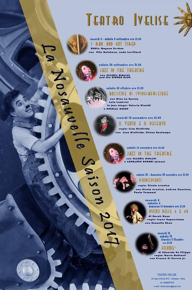 CARTELLONE-NOUVELLE SAISON 2017-teatro-ivelise
