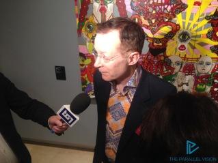 Paul Gravett, curatore della mostra