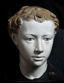 Luca Della Robbia Ritratto di giovinetto, 1445 ca Terracotta invetriata, cm 28 x 20 x 18 Napoli, Museo Civico Gaetano Filangieri