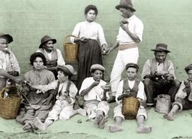Il modesto pasto del mezzogiorno, 1907-1908