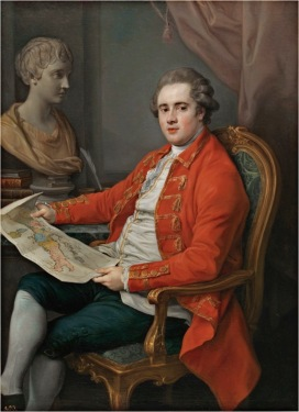 P. Batoni, George Legge, Viscount Lewisham, 1778, Madrid, Museo del Prado, inv. P 48 © Museo Nacional del Prado