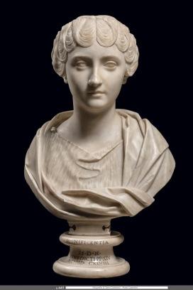 Busto di Faustina Minore, età antonina, Musei Capitolini, inv. S 449 Foto di Zeno Colantoni