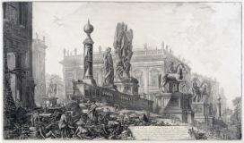 G.B. Piranesi, Veduta del Campidoglio, 1761-1778, Museo di Roma, inv. MR 2633