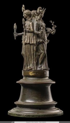 Hekate tricorpore, I secolo d.C., Musei Capitolini, inv. S 2173 Foto di Zeno Colantoni