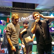 Nico Maraja, Daniele Sidonio e Carlo Valente