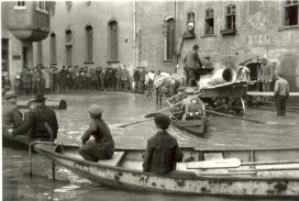 Oskar Barnack Inondazione in Wetzlar 1920 © Leica Camera AG