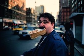 Jeff Mermelstein Marciapiede 1995 © Jeff Mermelstein