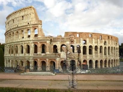 Colosseo n°2, Roma, 2017 Courtesy Boxart, Verona