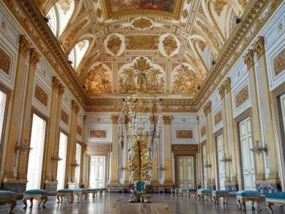 Sala del Trono, Reggia di Caserta, 2017 Courtesy Boxart, Verona