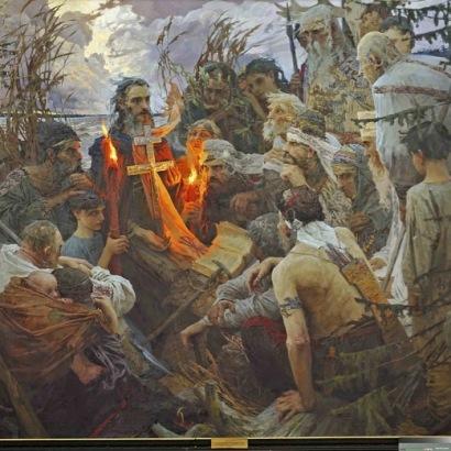 Morgun Е.O._San Leonzio di Rostov predica ai pagani