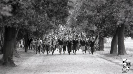 DREAMERS 1968 CARLO RICCARDI ARCHIVIO RICCARDI Disordini durante la battaglia di Valle Giulia 1 marzo