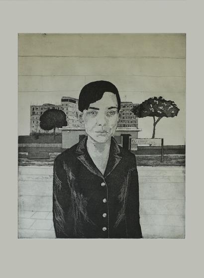 parione9-gallery-roma- J.Witteveen-Rosa