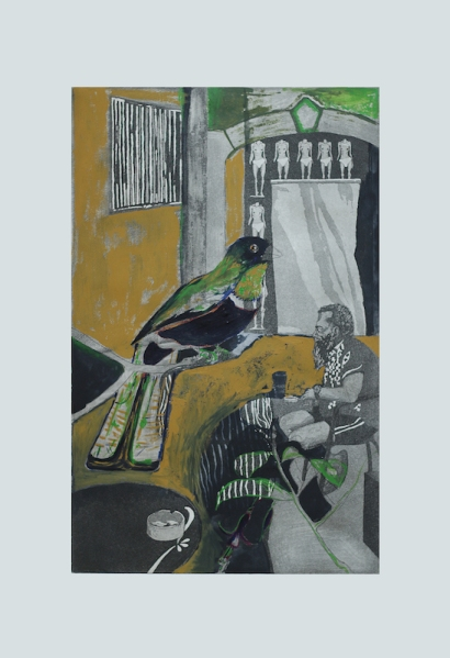 parione9-gallery-roma-J.Witteveen-Song bird