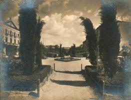 Viale Mazzini, primo tratto. Foto Vasari, 1926, stampa fotografica, Archivio Storico Capitolino