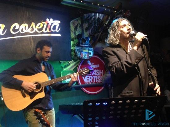 Alessio Bonomo (a destra) con Antonio Ragosta