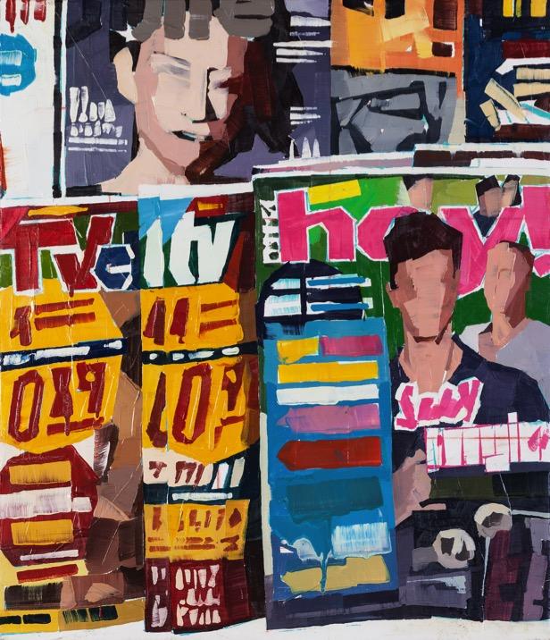 _Quadri di riviste_ - serie_ Luca Grimaldi