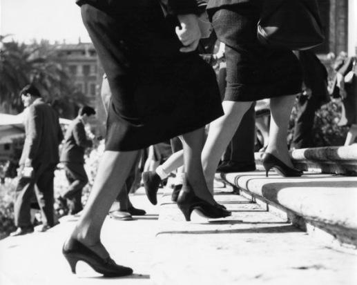 Monica Pidgeon Spanish Steps, Piazza di Spagna Gelatine silver print, 1961 Monica Pidgeon / RIBA Collections