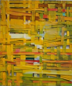 Legesse,woven-yellow,-2016,-acryl-on-canvas,-110x130-cm_light