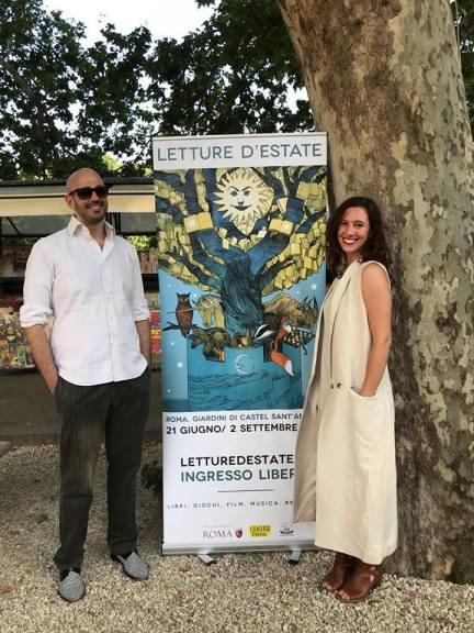 Lucio Villani e Margherita Schirmacher (Foto: © Giusy Esposito)