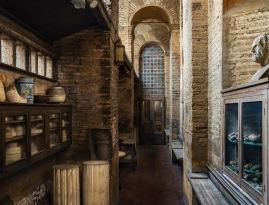 Interno delle Mura su via Campania. Studio Randone, Scuola di ceramica