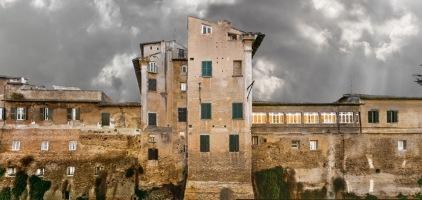 Viale di Porta Tiburtina - Tratto inglobato nella Villa Dominici