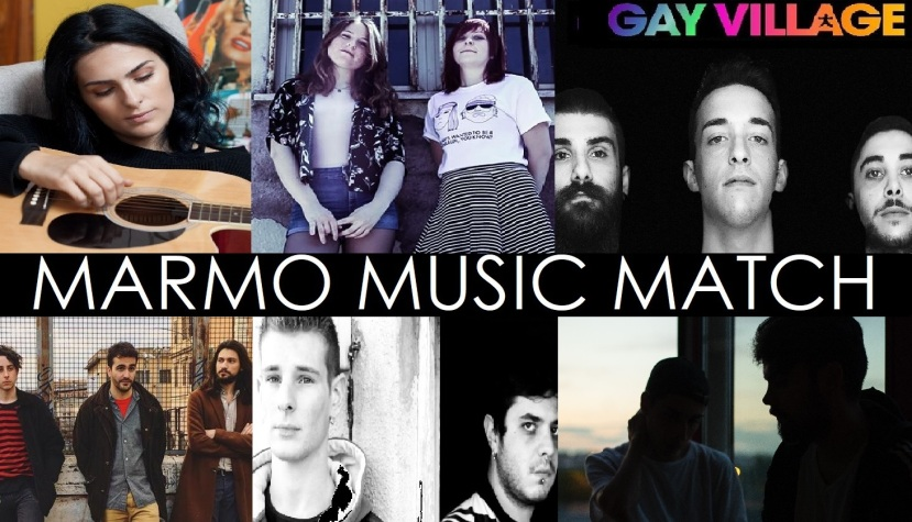MARMO MUSIC MATCH COLLAGE