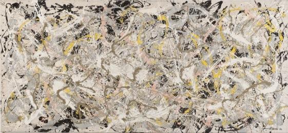 Jackson Pollock Number 27, 1950 Olio, smalto e pittura di alluminio su tela, 124,6x269,4 cm © Jackson Pollock by SIAE 2018 © Whitney Museum of American Art