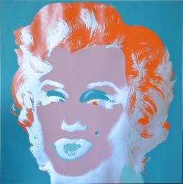 Andy Warhol Marilyn, 1967 Serigrafia su carta, 91,4x91,4 cm © The Andy Warhol Foundation for the Visual Arts Inc. by SIAE 2018 per A. Warhol