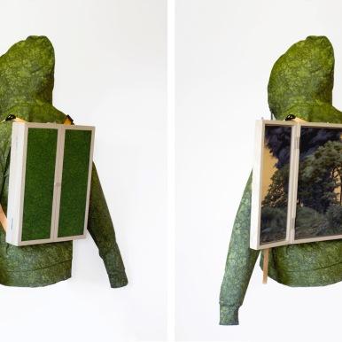 Jesús-Herrera-Martínez-Hoodie-Oilonfabric-93x70x30cm(openandclosed)-2018