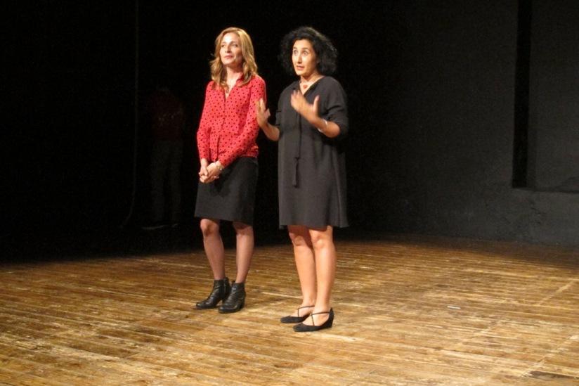 Linda Di Pietro (a sinistra) e Marta Castelluzzo