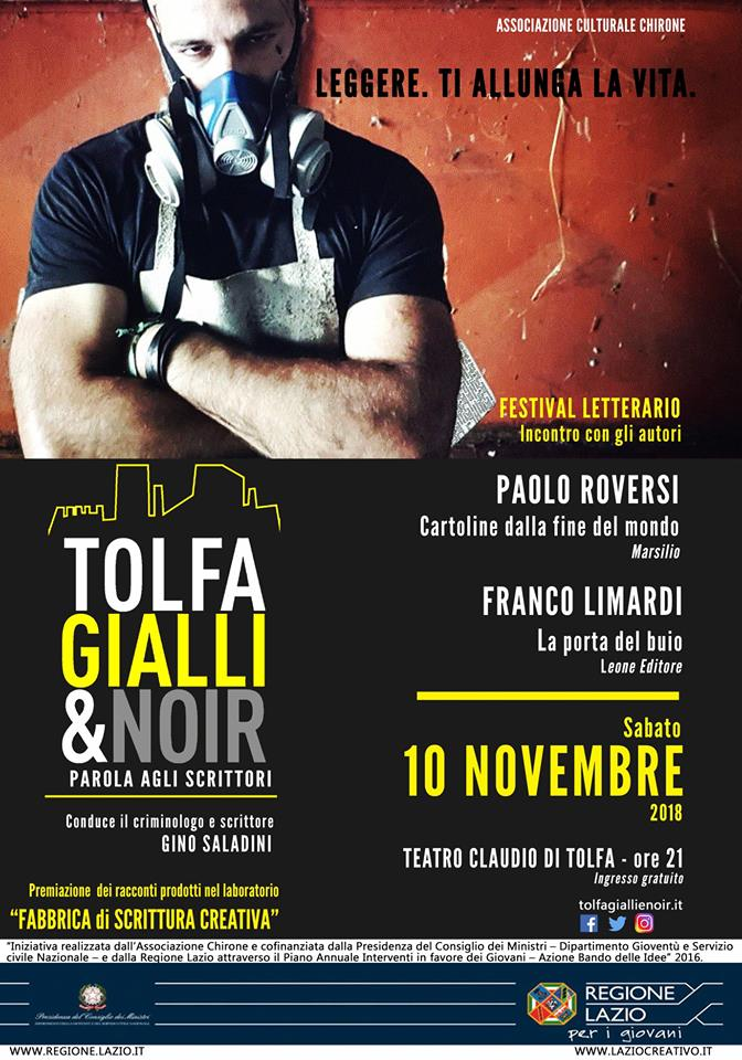 locandina TOLFA GIALLI E NOIR 7^ EDIZIONE